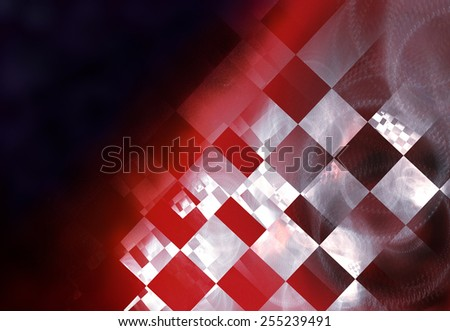 "Stylish abstract background with iridescent highlights, topics close to racing and speed, used color flags of countries hosting races. Grungy texture, is ""dirty"" and some ""graininess"" - stock photo"