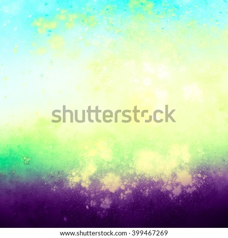 Stylish and harmonious background blur. Colours tender spring greens, fresh, encouraging and energizing.  Pastel shades.   Texture is poured, it gives a feeling of surprise, puzzle and uniqueness. - stock photo