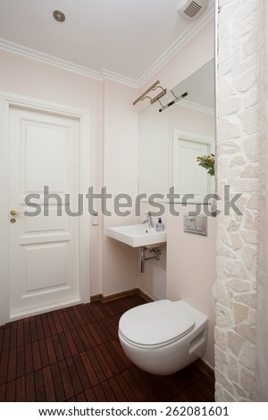Stylish bathroom interior