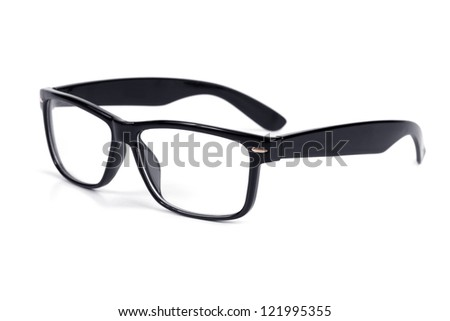 Glasses Frame Black And White : Black Frame Glasses Stock Images, Royalty-Free Images ...