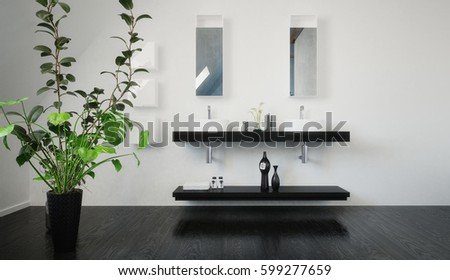 Bathroom Furnishings Stock Images, Royalty-Free Images & Vectors ...