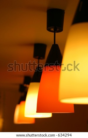 Stylish Lights - stock photo