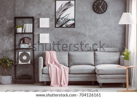 stylish living room comfortable. Beautiful Stylish Stylish Living Room With Comfortable Grey Corner Sofa Small Tree On The  Floor And Black In Living Room Comfortable I