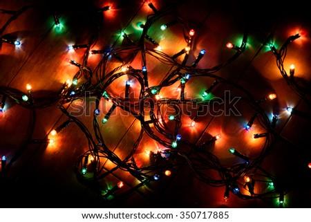 Retro Christmas Lights