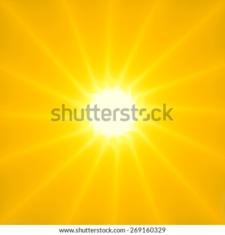Stylish Sun Sunburst background