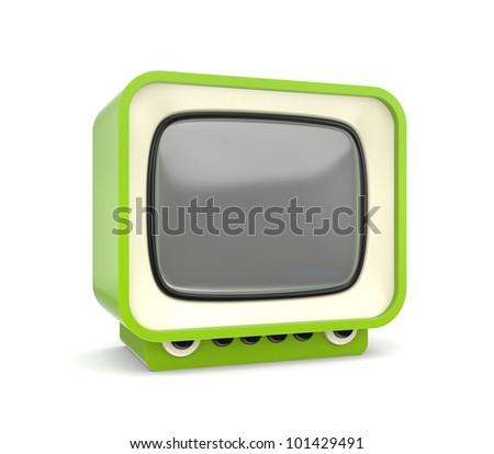 Stylish TV - stock photo