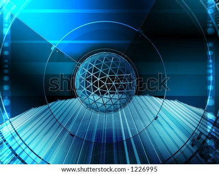 Stylish web-based image useful in many business composition - stock photo