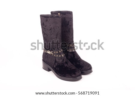 Womens Boots Stock Images, Royalty-Free Images & Vectors ...