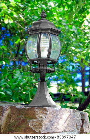 Oil Lamp clipart vintage lantern - Pencil and in color oil lamp ...