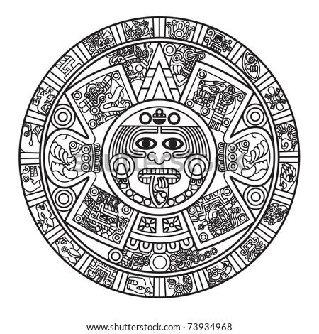 Aztec Calendar Stock Photos, Aztec Calendar Stock Photography ...