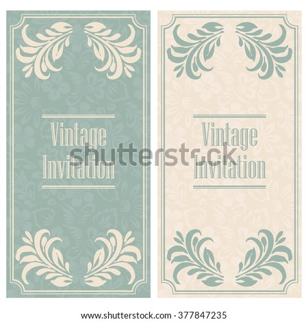 Stylized floral designs. The background of hand-drawn flowers. Template for an invitation.