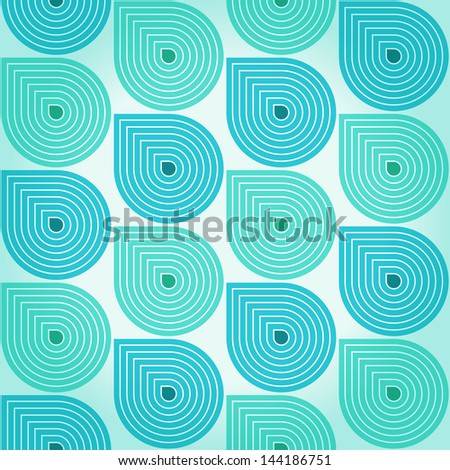 Stylized retro background with rain drops. Raster version of the vector image - stock photo
