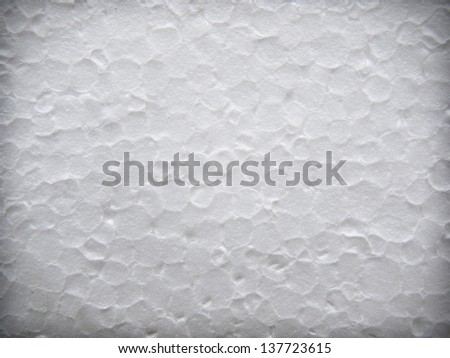 styrofoam,white texture for background