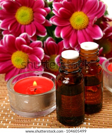 Subjects for an aromatherapy and massage
