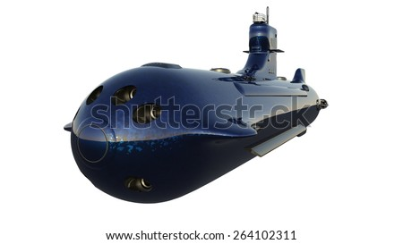 submarine - stock photo