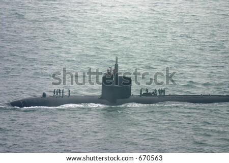 Submarine - stock photo