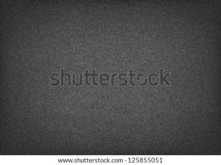 Subtle pattern seamless texture grainy noise effect on dark gray wallpaper background. Template paper size a4 horizontal format. This image is a bitmap copy my vector illustration - stock photo