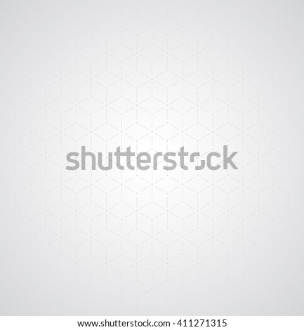 Subtle seamless background  abstract geometrical gray design - stock photo