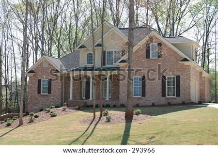 Suburban Home 1 - stock photo