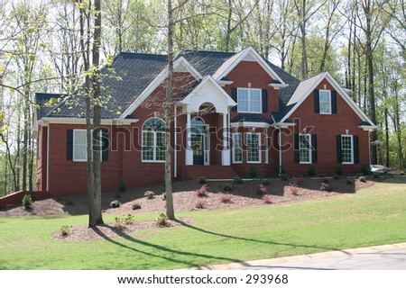 Suburban Home 2 - stock photo