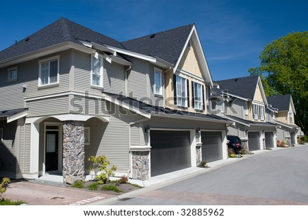 Suburban Lifestyle - stock photo