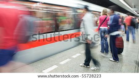 Subway - stock photo