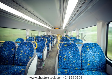 Subway carriages - stock photo