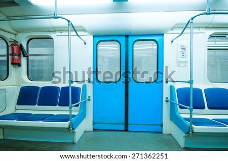 Subway vehicle - stock photo