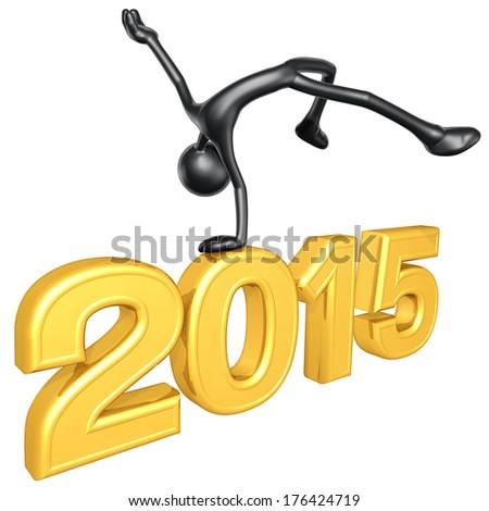 Success 2015 - stock photo
