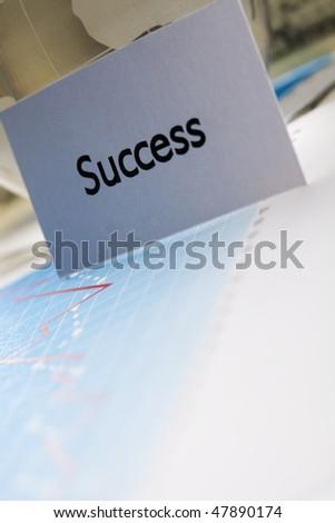 Success! - stock photo