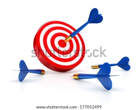 Success and failures - stock photo