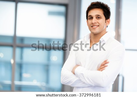 Success and professionalism in person - stock photo