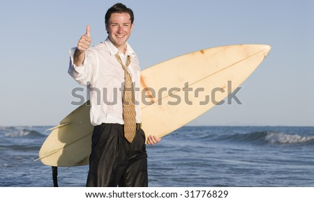Success at the Office - stock photo