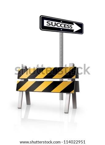 Success Barrie - stock photo