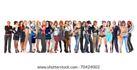 Success Business People - stock photo