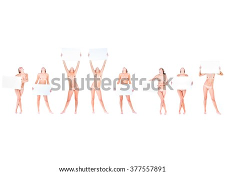 Success Concept With a Big Poster  - stock photo