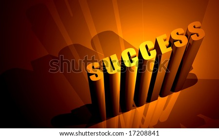 Success,Digital art - stock photo