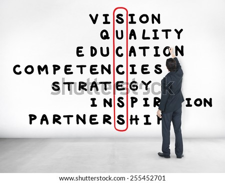 Success Goal Target Victory Strategy Vision Concept - stock photo