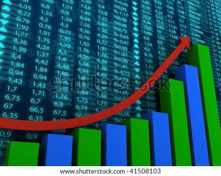 success graph - stock photo