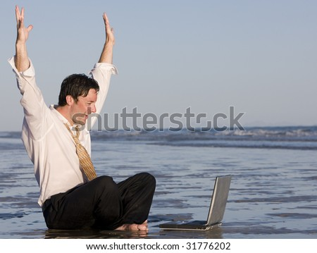 Success in Business/Finance - stock photo