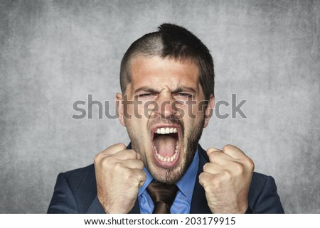 Success in business is half of victory - stock photo
