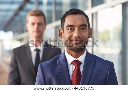 Success is achieved through teamwork - stock photo