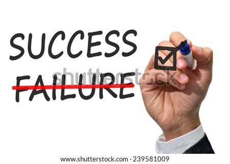 Success key concept - stock photo