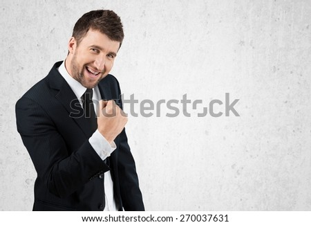 Success, successful, business. - stock photo