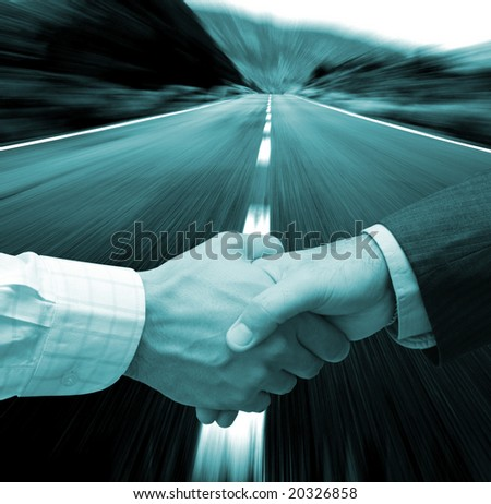 Successful agreement - stock photo