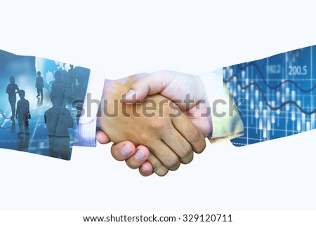 Successful business. - stock photo