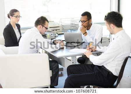 Successful business people - stock photo