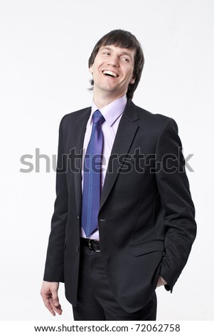 Successful businessman - stock photo