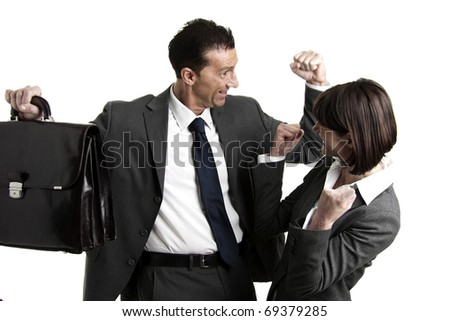 Successful Businesspeople - stock photo