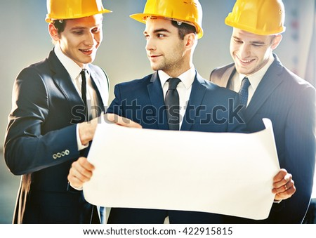 Successful project - stock photo